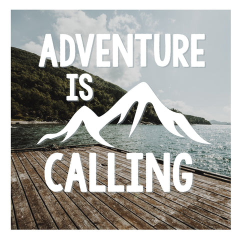 DECAL {Adventure is Calling} Vinyl Decal