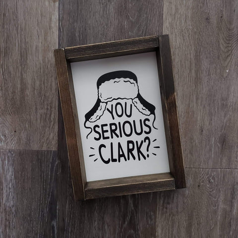 Are you serious Clark?!