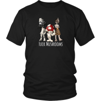 Three Mushkateers Tee by @joshdewitt1