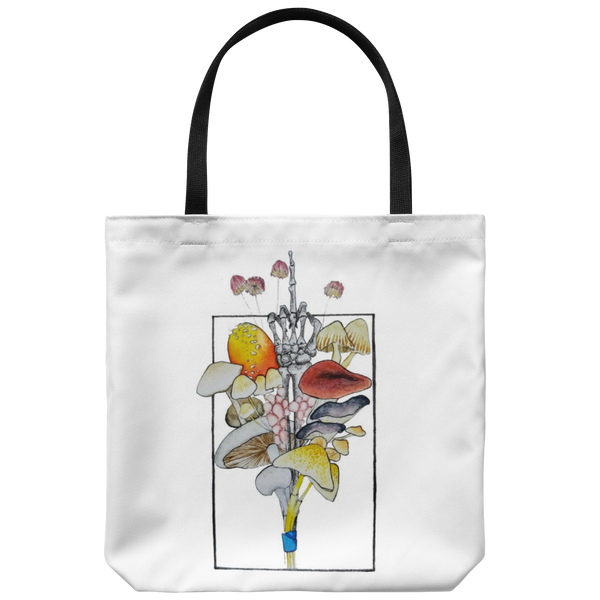 Fuck Mushrooms Bouquet Tote by @missstephanieleed