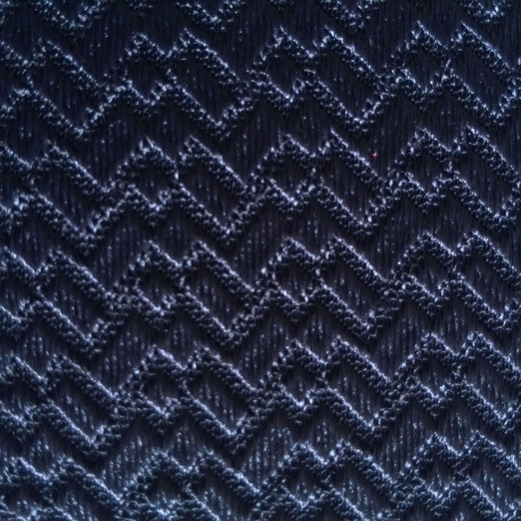 Spandex Jacquard tricot knitting fabric, small brick