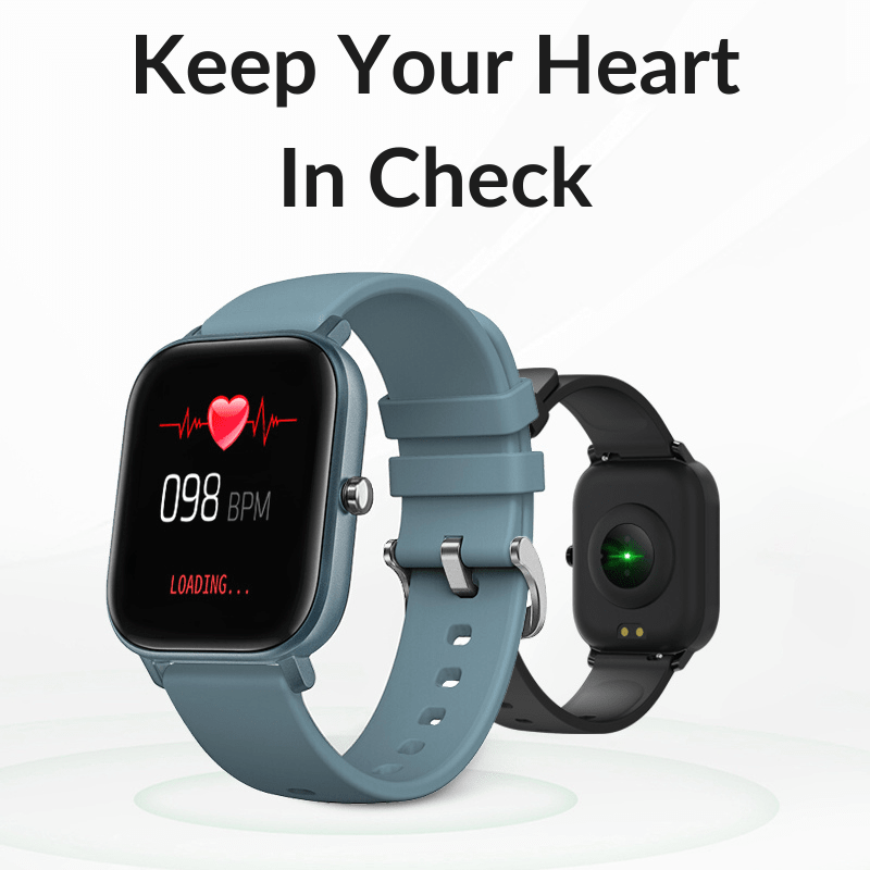 Check your heart rate in real-time.