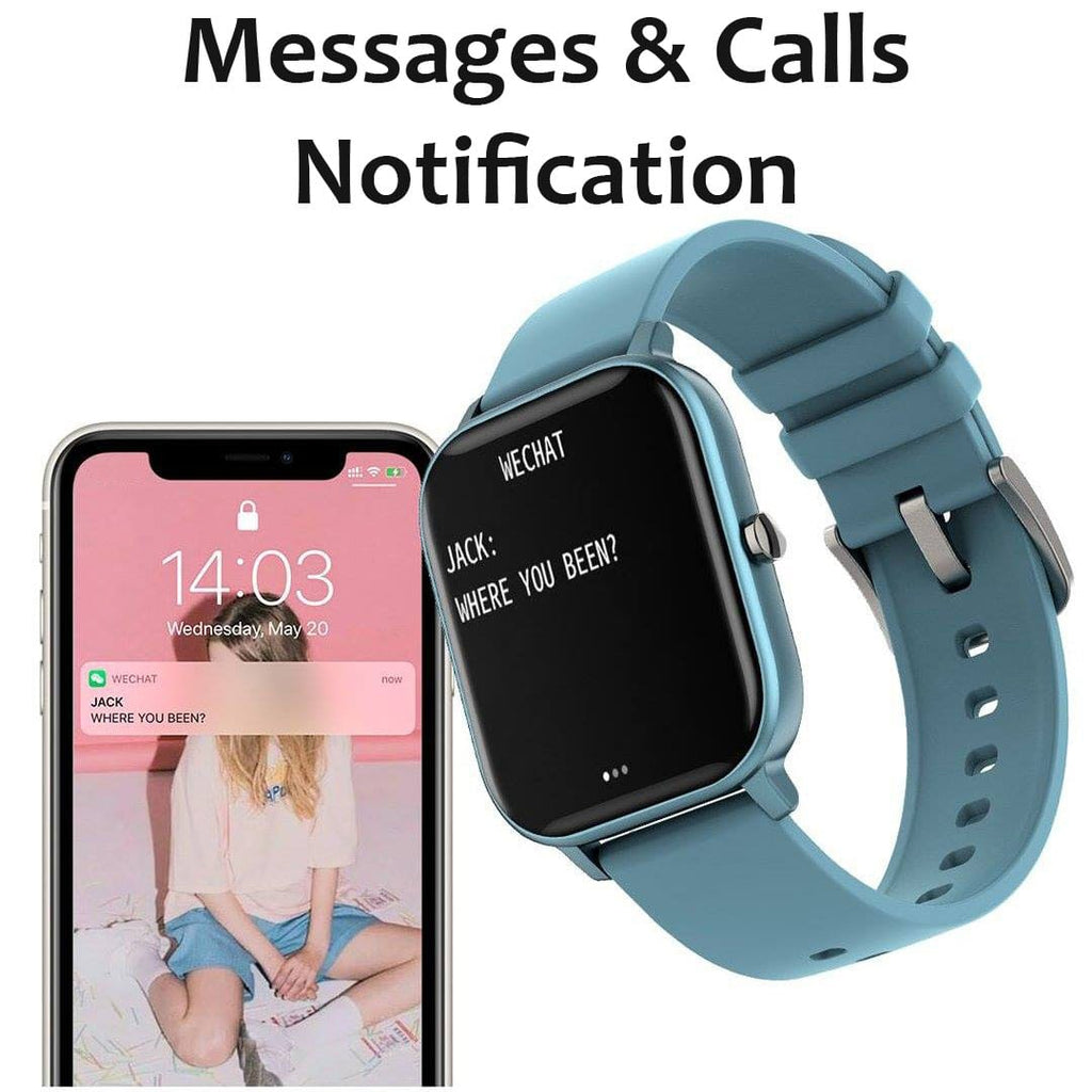 Messages and Calls notifications on the HealthWatch