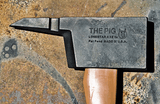 PIG Forcible Entry Tool - Notched PIG Axe - Tan Handle