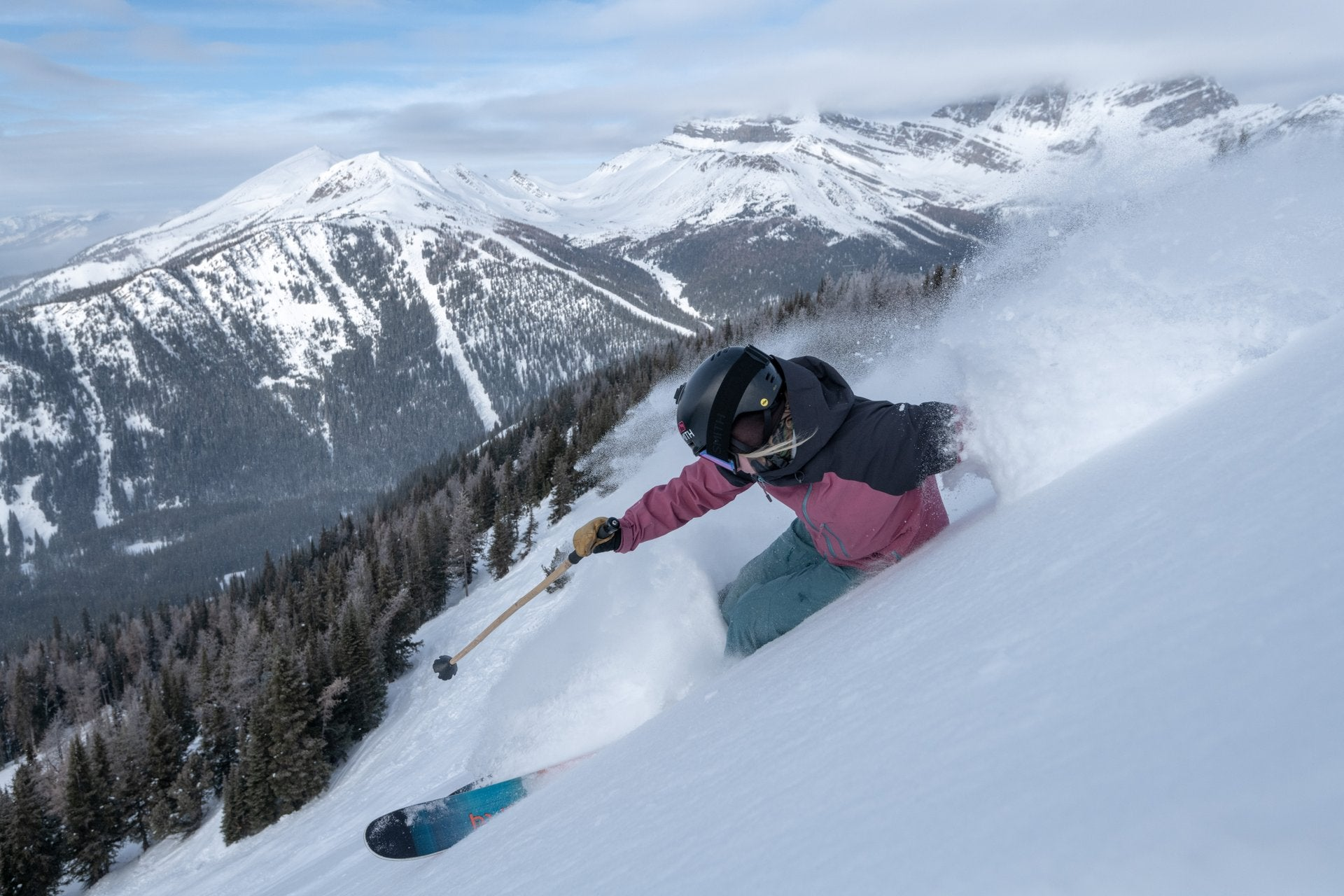 What is skiing Lake Louise All About?