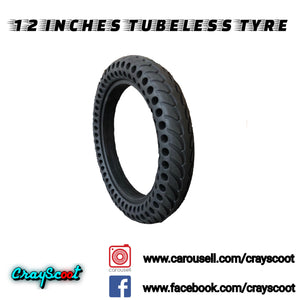 12 Inch Tubeless Tyre