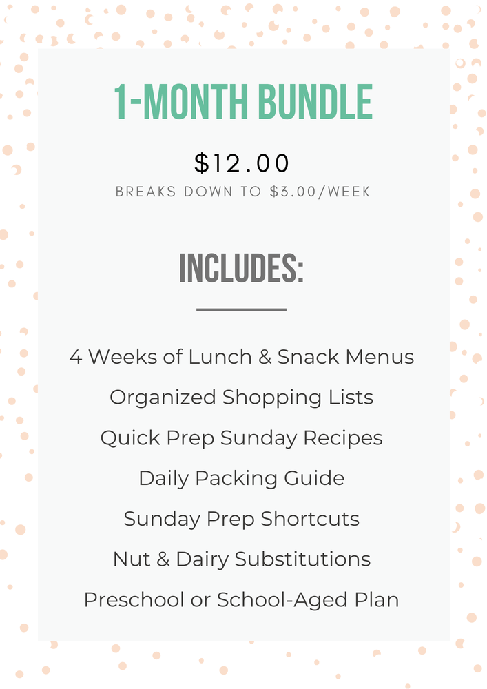 1-Month Bundle