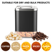 Coffee Tea Dry Food Nuts Powder Spices Jar Container with Lid Airtight
