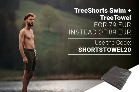 TreeShorts Swim and TreeTowel Combo