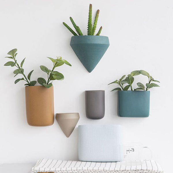 Mounted Pots for Wall Planters