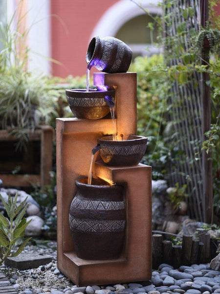 Cascading Water Fountain