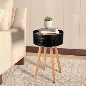 Home and Office Black Accent Coffee Table Ferrisland