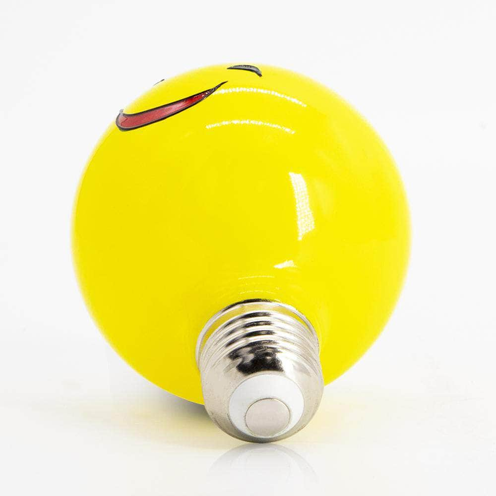Small Smiling Face Colored Decorative Light Bulb LIMOR