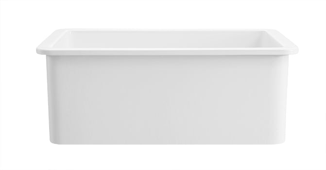 "Beaumont - 27"" Rectangular Undermount Fireclay Sink"