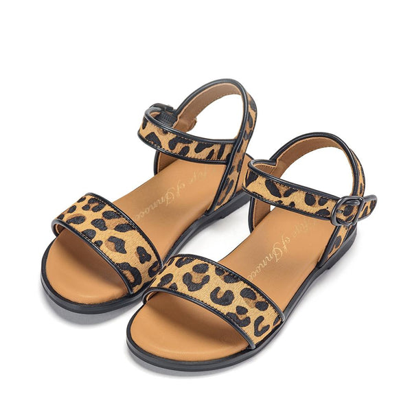 Simone Animal Print Sandals by Age of Innocence
