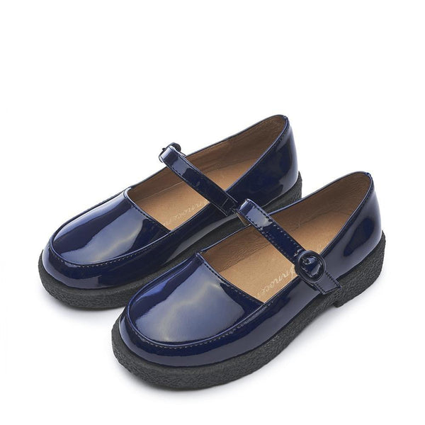 Aria 2.0 Navy Shoes by Age of Innocence