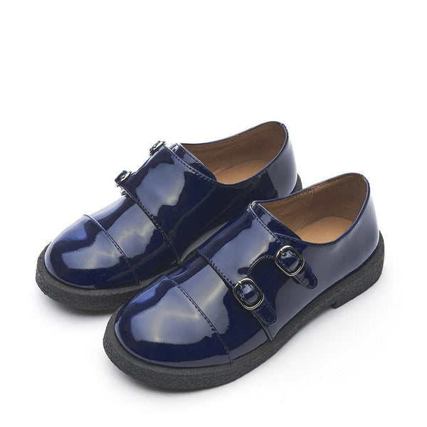 Hudson 2.0 Navy Brogues by Age of Innocence