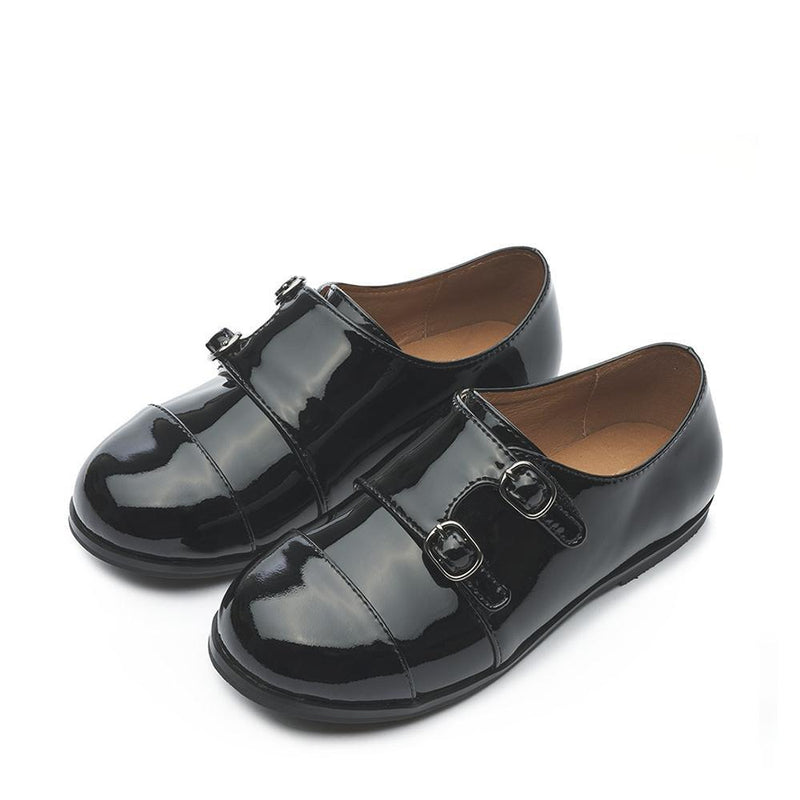 Hudson Black Brogues by Age of Innocence