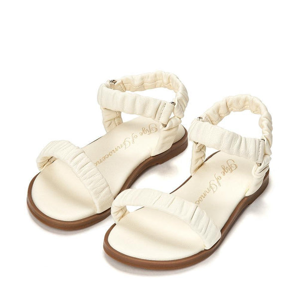 Kyle White Sandals by Age of Innocence