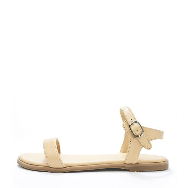 Ricky Beige Sandals by Age of Innocence