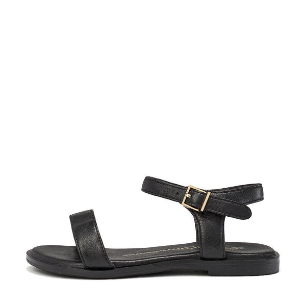 Ricky Black Sandals by Age of Innocence