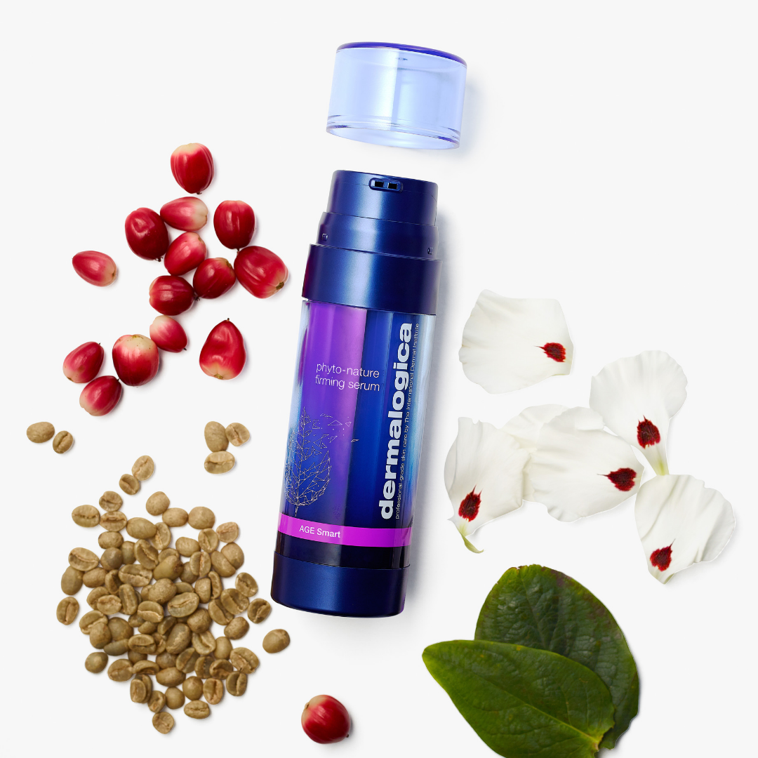 Dermalogica's Phyto Nature Firming Serum is clinically proven to turn back the clock 5 years on visible signs of ageing.