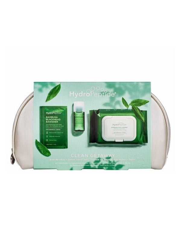 HydroPeptide Clean Getaway Travel Set
