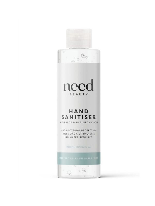 Hand Sanitiser with Aloe + Hyaluronic Acid