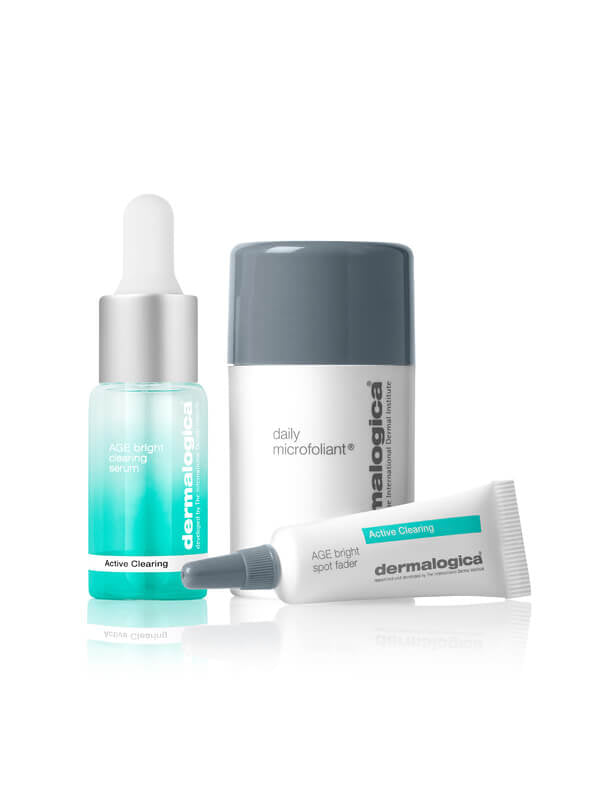 Dermalogica Active Clearing Clear + Brighten Kit