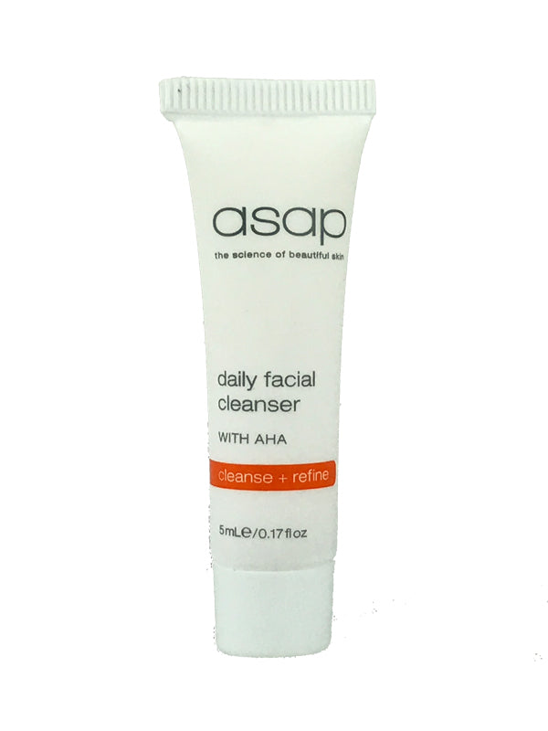 Sample of ASAP Daily Facial Cleanser