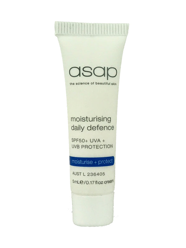 Sample of ASAP Moisturising Daily Defence SPF50+