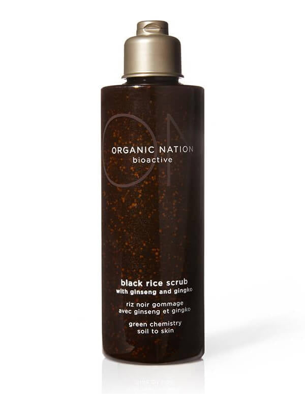 Organic Nation Black Rice Scrub 150ml