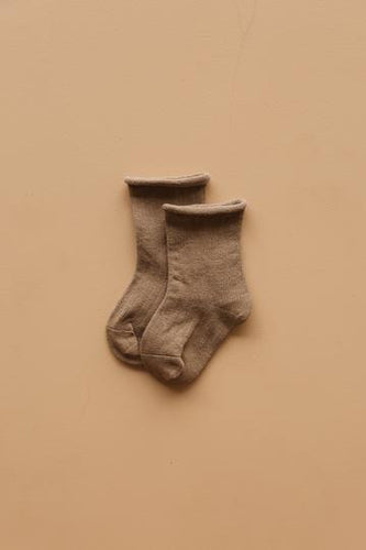 The Lullaby Club Socks - Mocha