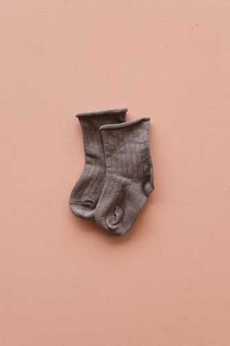 The Lullaby Club Socks - Slate