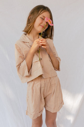 The Lullaby Club Mini Lounge Set - Sand (last one size s/m)