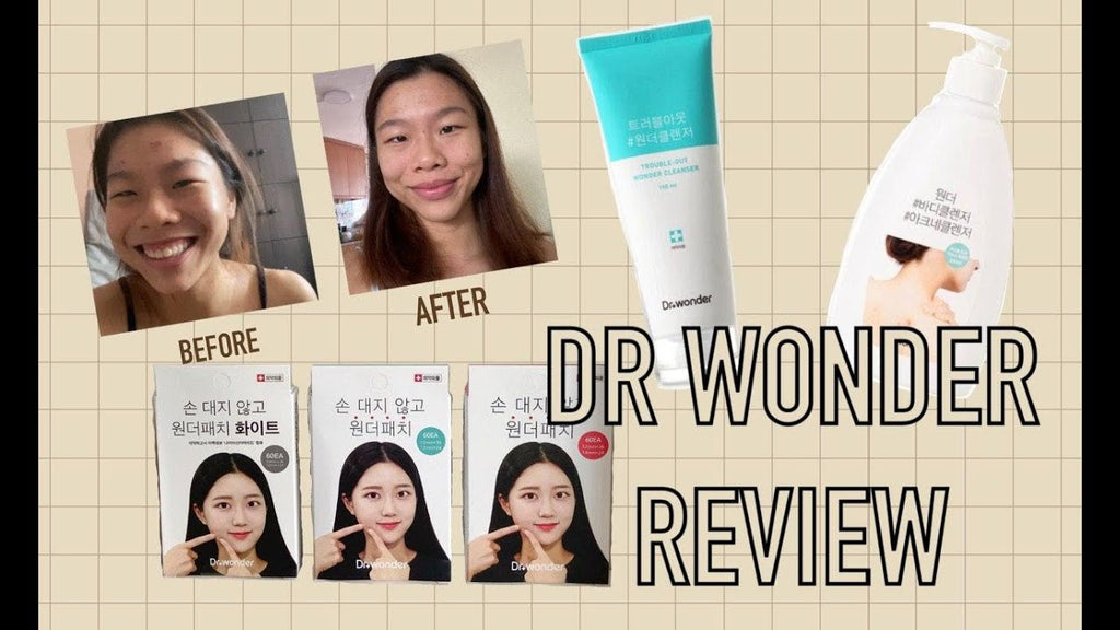 NO MORE back acne ! Dr.Wonder Acne Cleanser & Trouble out cleanser Review | Review by Xiao Yin