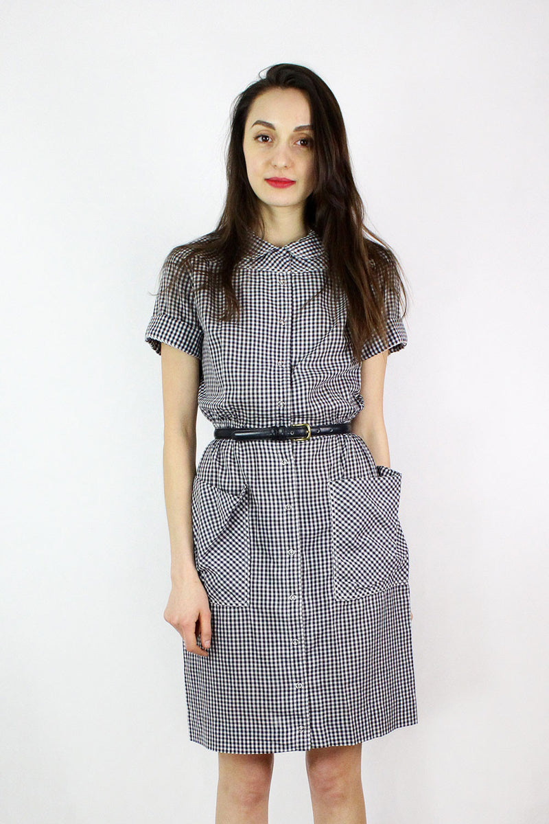 Doris Gingham Dress S/M