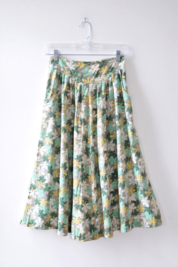 Mary Jane Cotton Skirt XS