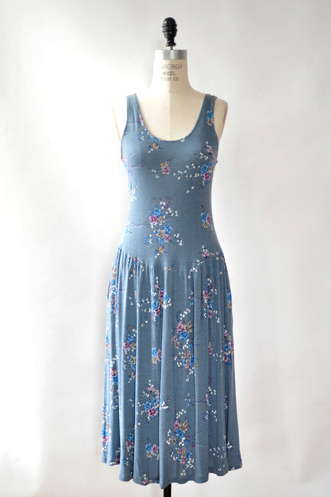Jenny Blue Floral Dress S