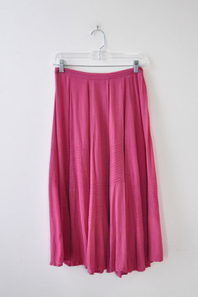 Flowy Raspberry Skirt XS
