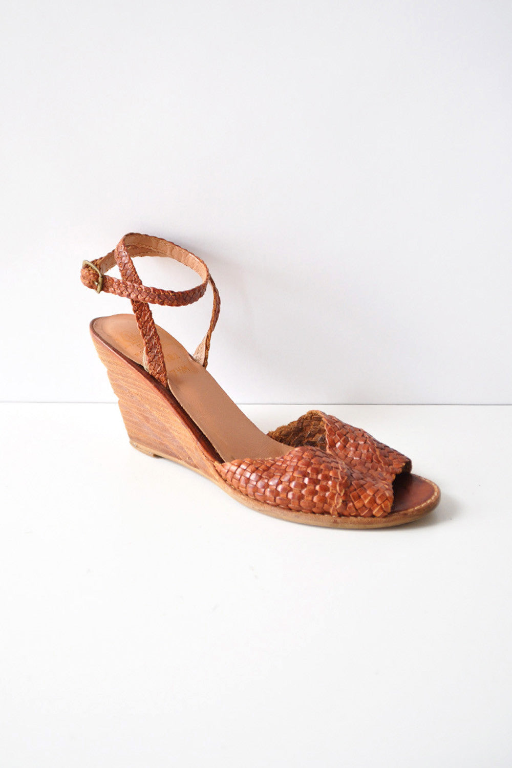 Kinney Braided Wedge 7-7 1/2