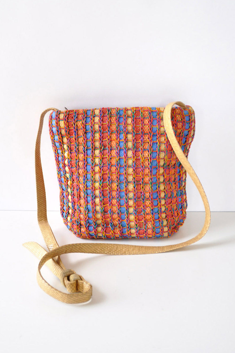 72f41278134c Woven Rainbow Sharif Purse – OMNIA