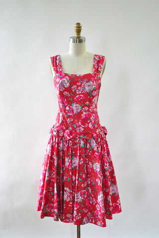 Laura Ashley Bow Dress S