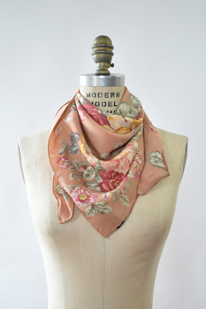 Ralph Rose Silk Scarf