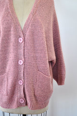 Slouchy Rose Cardigan