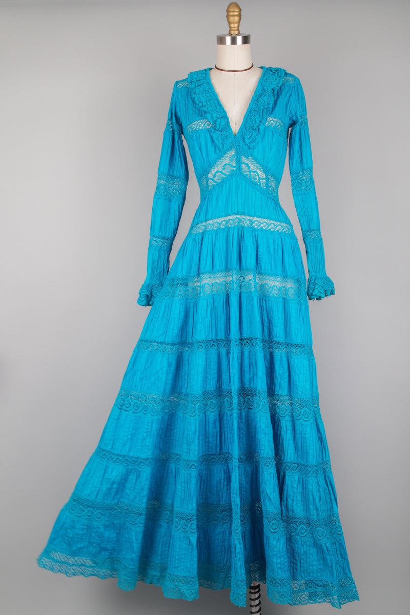 Turquoise Mexican Wedding Dress S Omnia