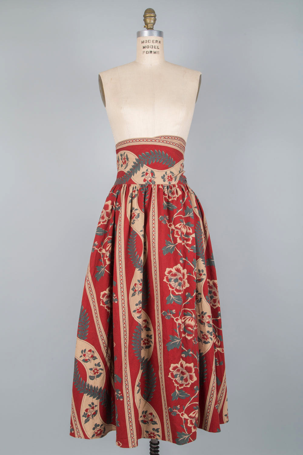 Carol Tapestry Wrap Skirt