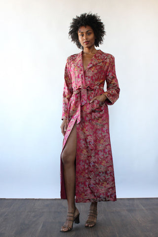 Maggie Floral Tie Dress XS-M