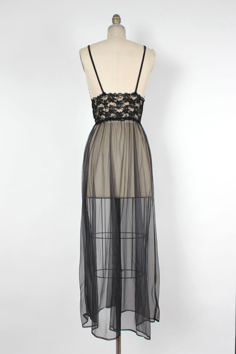 Sheer Ethereal Nightgown S/M