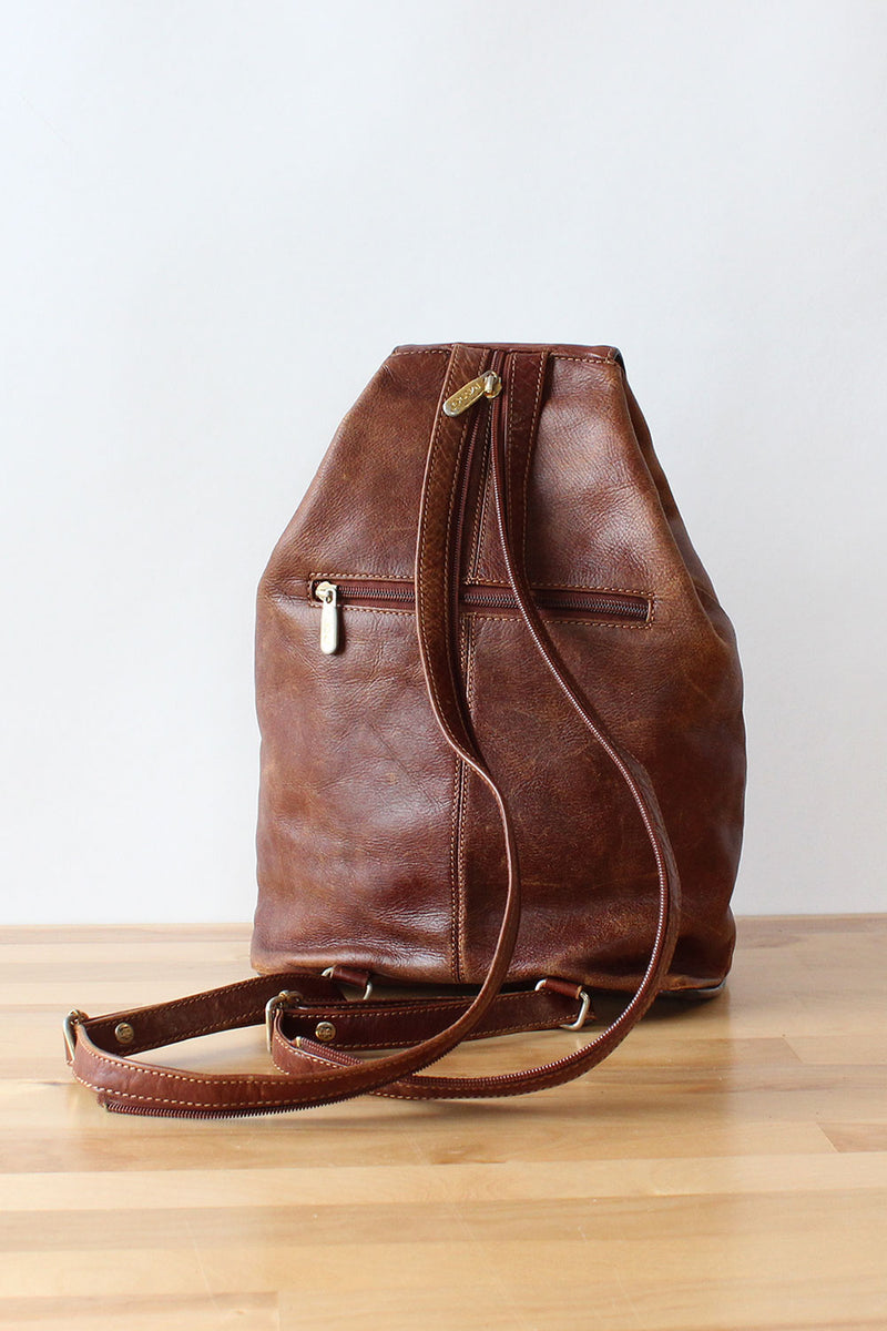 Distressed Convertible Backpack